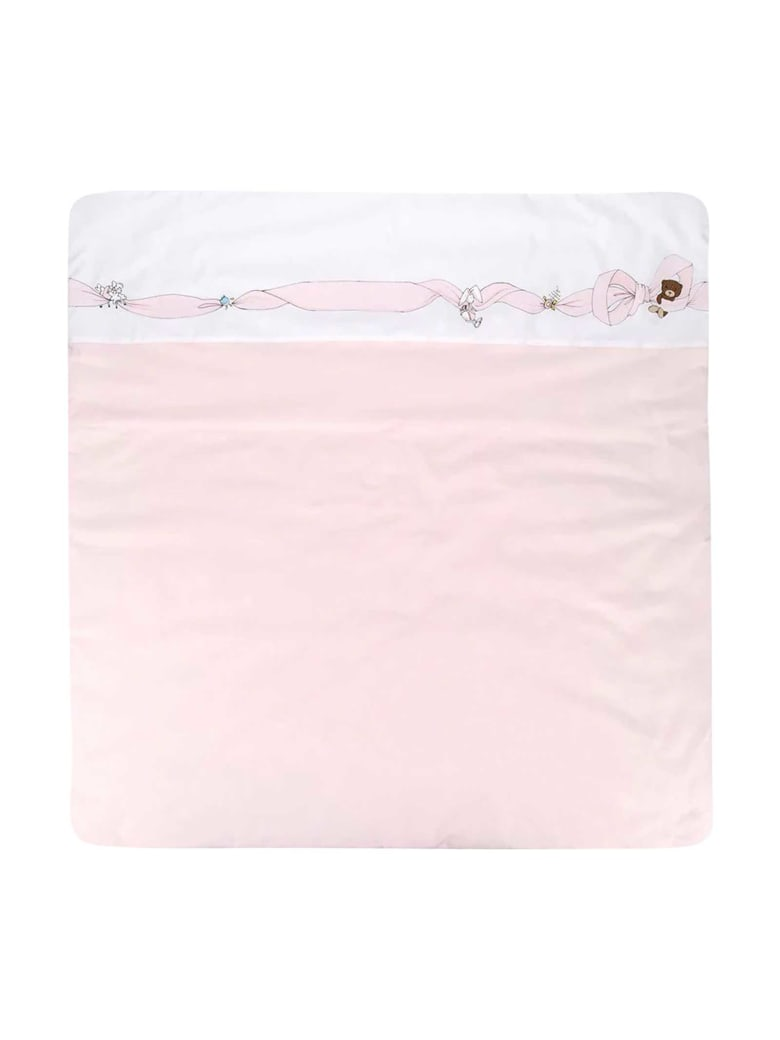 Fendi Pink Romper Bags - Pesca/bianco