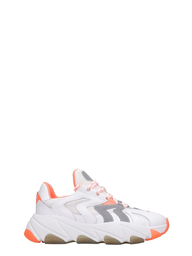 Ash Extreme 01 Sneakers In White Tech/synthetic - white