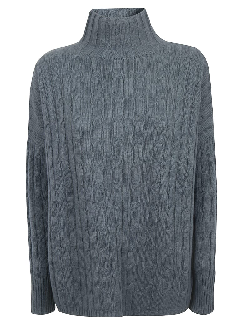 alyki Knitted Sweater - Norfolk Blue