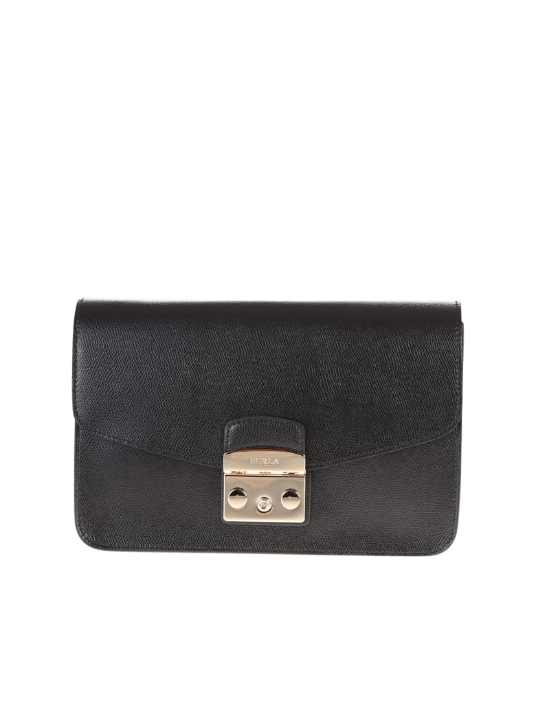 Furla Metropolis Shoulder Bag - Black