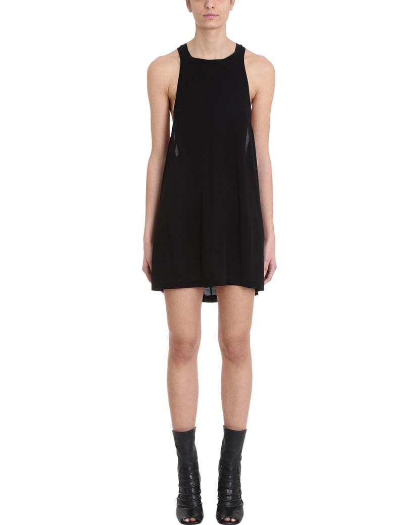 Rick Owens Open Tank Dress - black