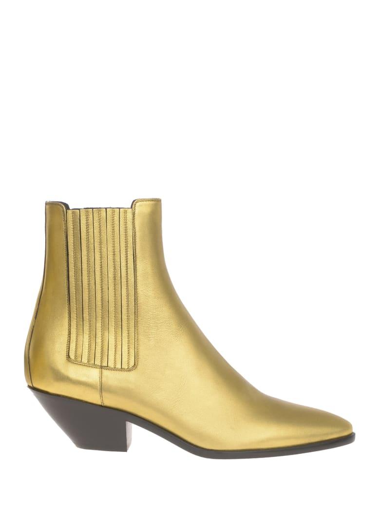 Saint Laurent Boots - Gold