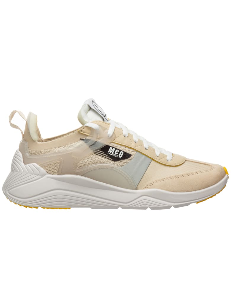 McQ Alexander McQueen Mcq Alexander Mcqueen Gishiki Pro Sneakers - Off white