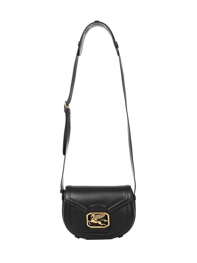 Etro Shoulder Bag Pegaso - Black