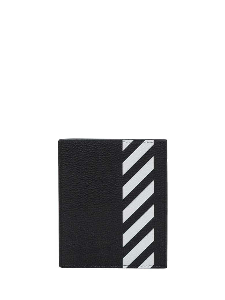 Off-White Diag Card Holder - Nero