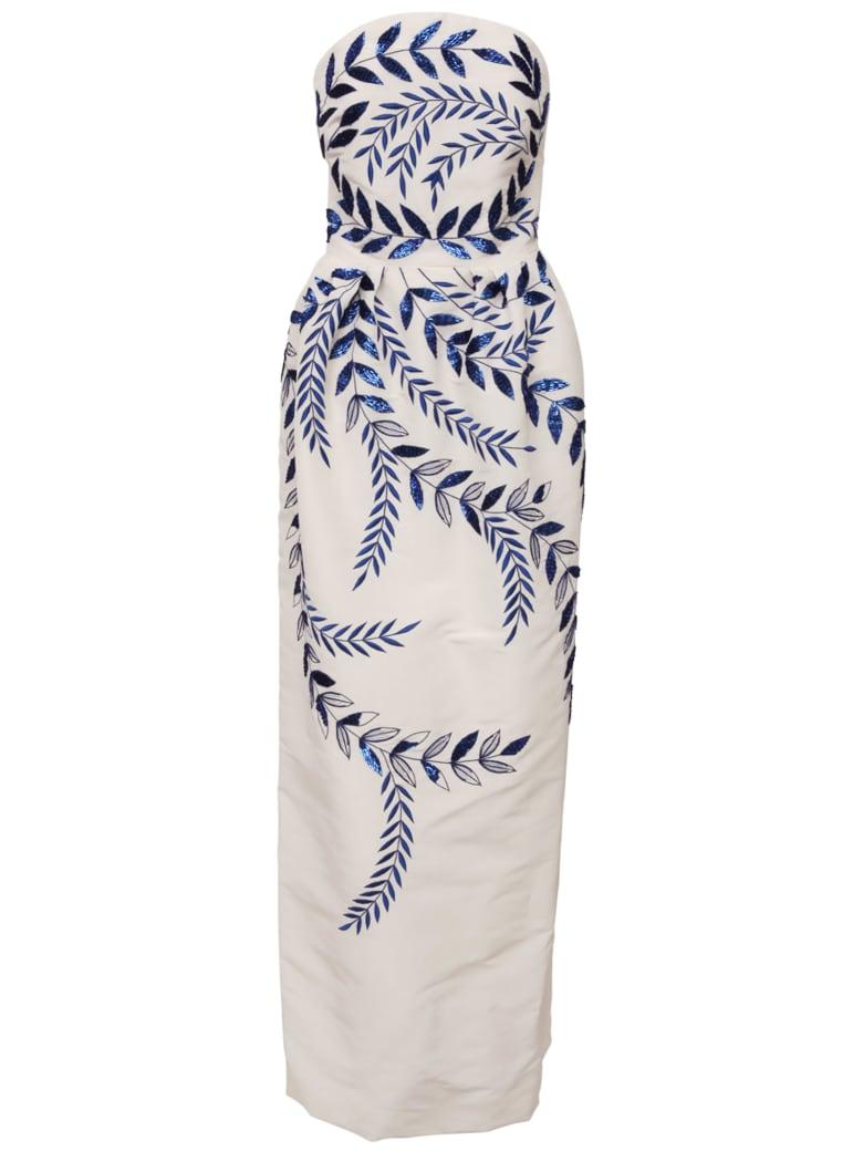 Oscar de la Renta Dress - White
