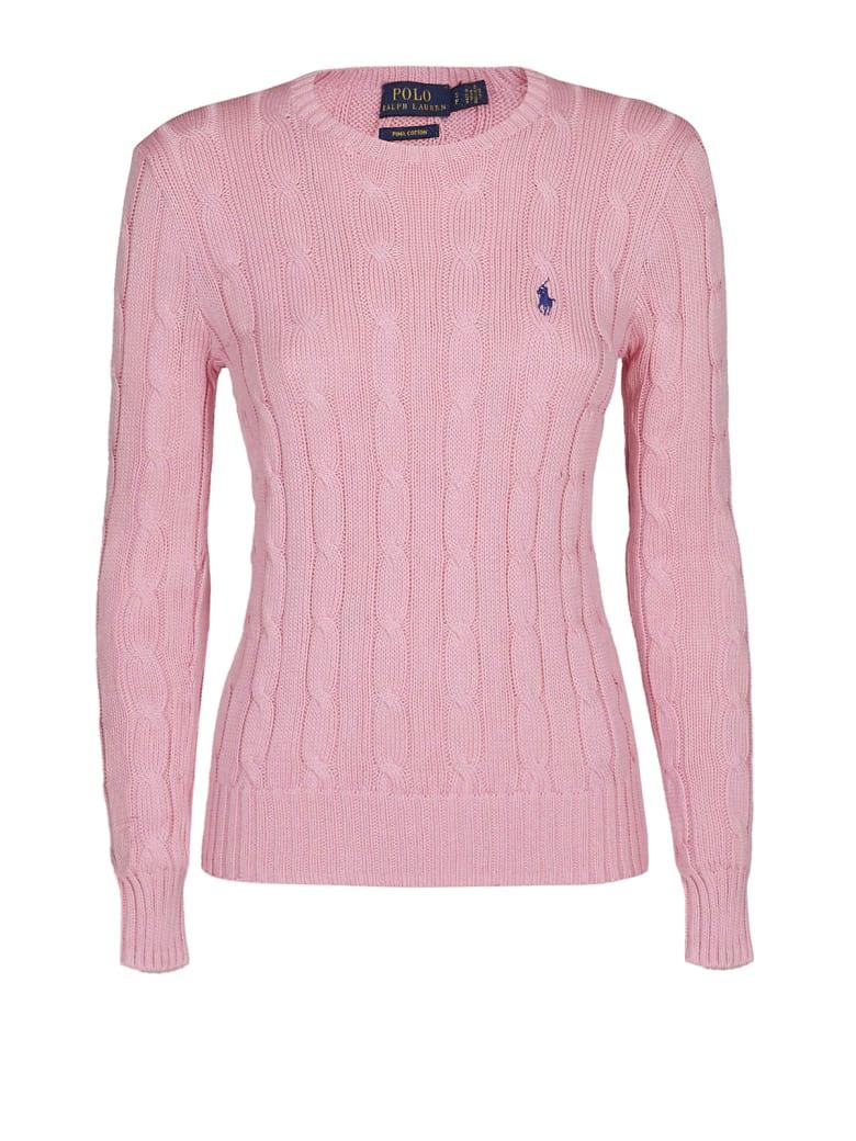 Polo Ralph Lauren Polo Ralph Lauren Pink Twist Knit Cotton