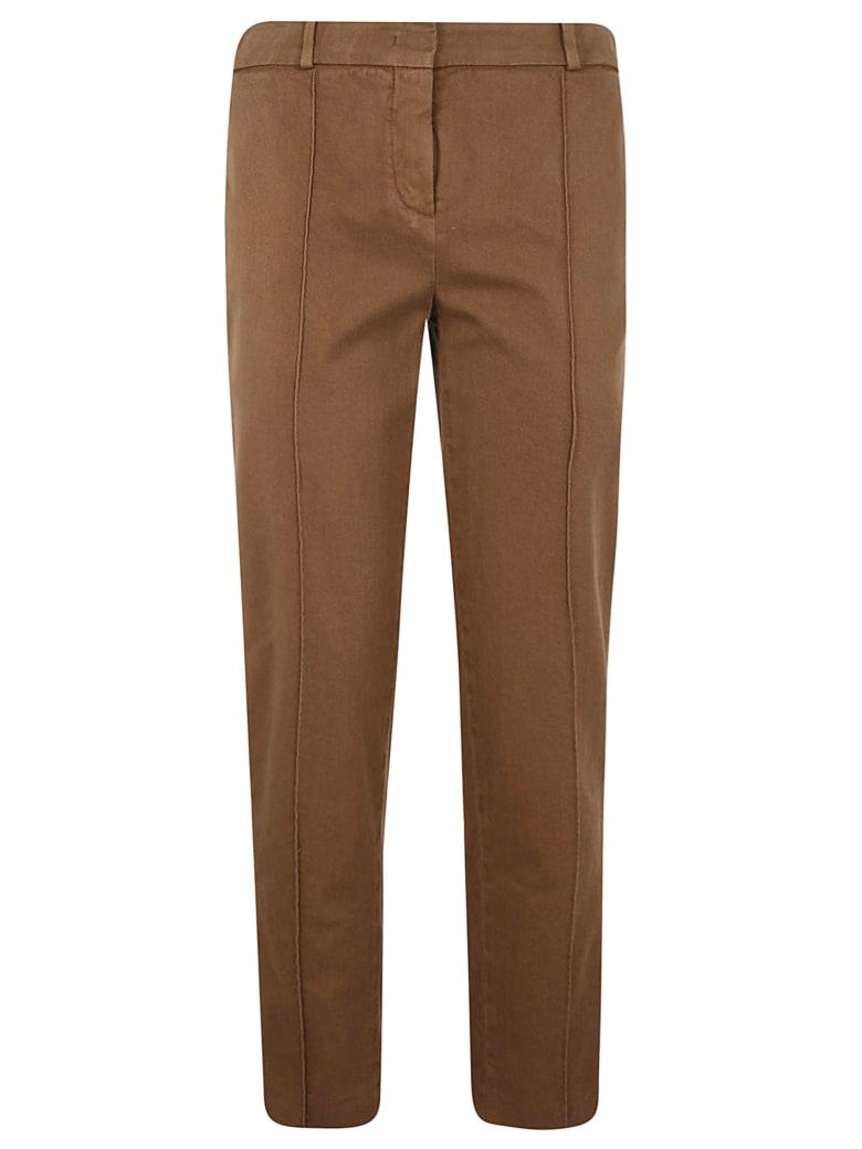 Loro Piana Classic Buttoned Trousers - Burned Camel