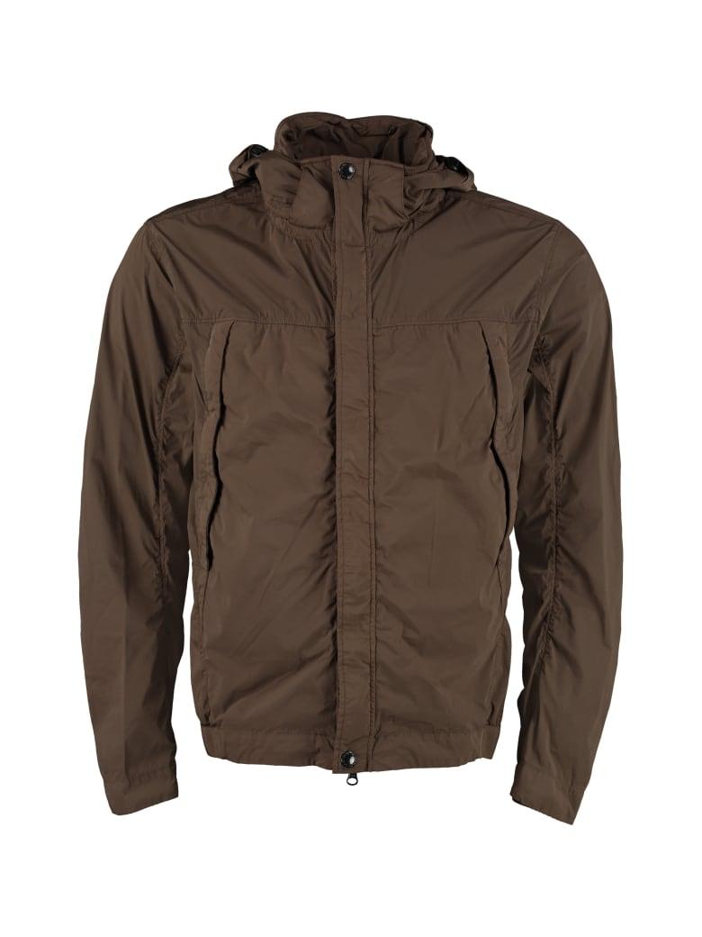 C.P. Company Goggle Hood Techno Jacket - green