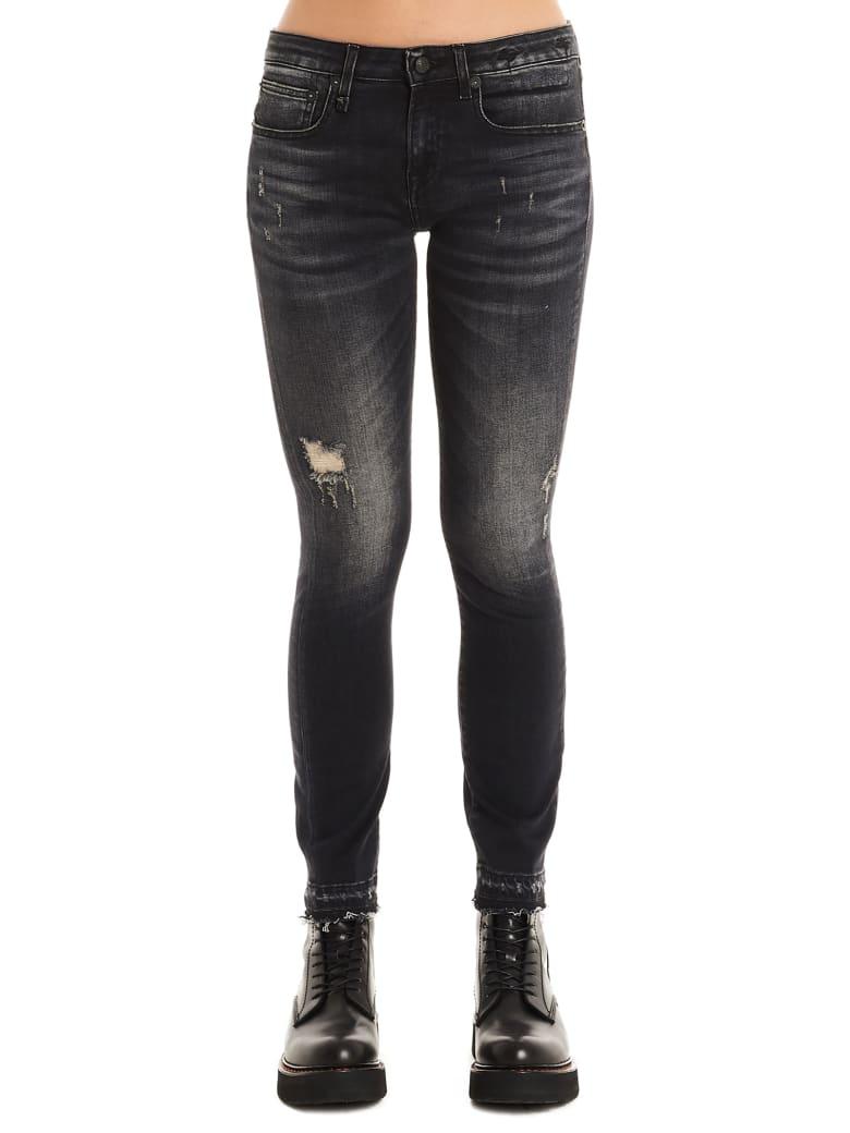 R13 'alison' Jeans - Black
