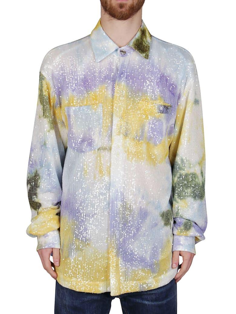 GCDS Multicolor Cotton Shirt - Multicolor