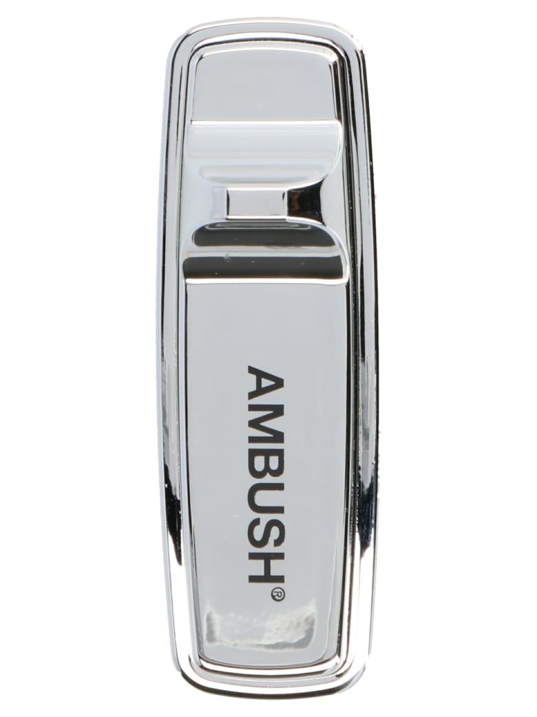AMBUSH 'security Tag' Pin - Silver