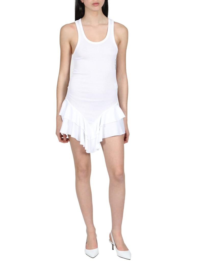 Filles a Papa Dress - Bianco