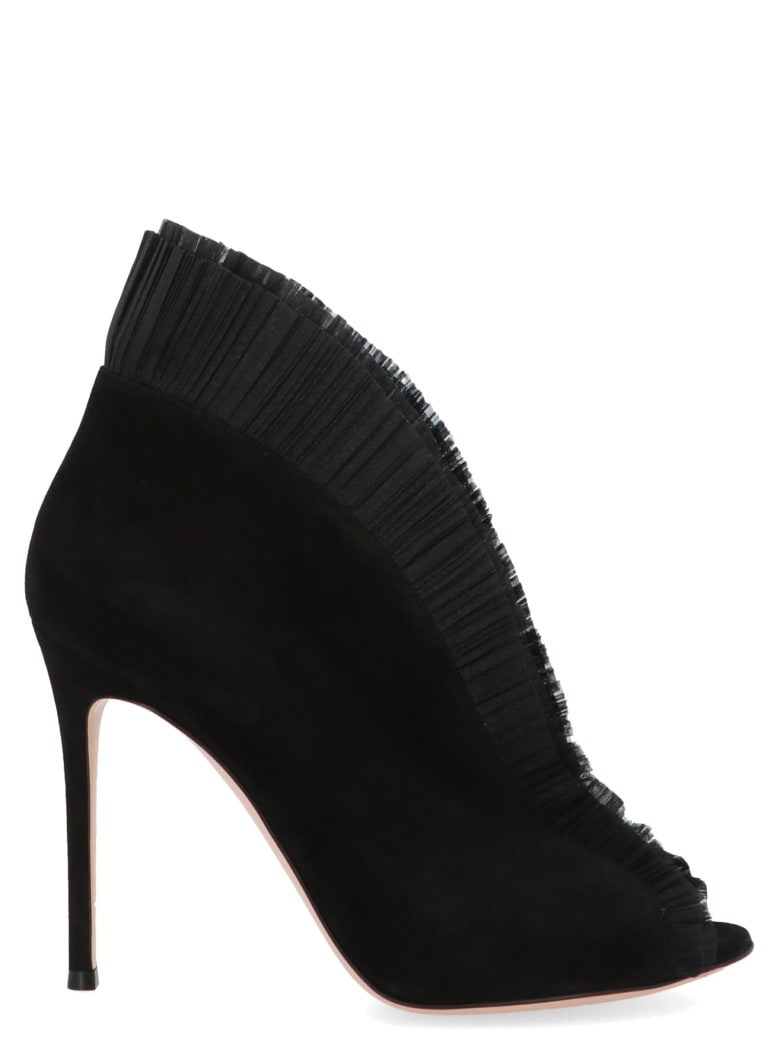 Gianvito Rossi 'ginevra' Shoes - Black
