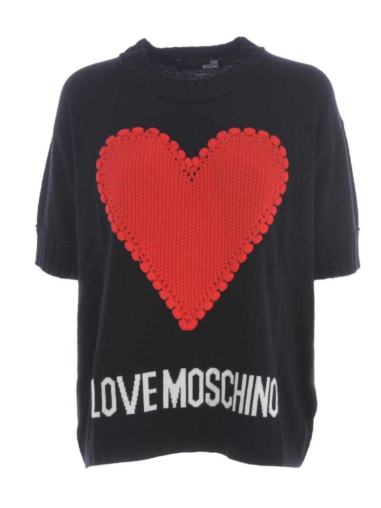 Love Moschino Sweater - Nero
