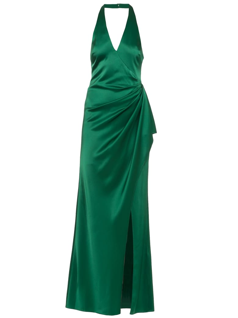 Alice + Olivia Satin Dress - BASIL
