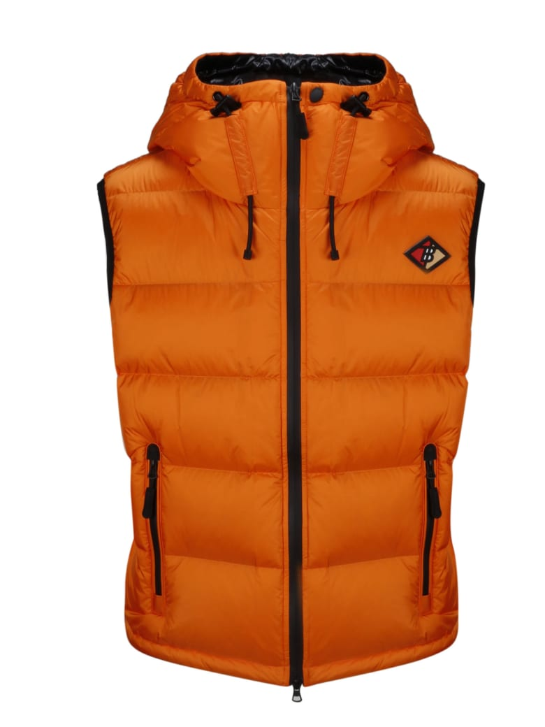 Burberry Vest - Yellow & Orange