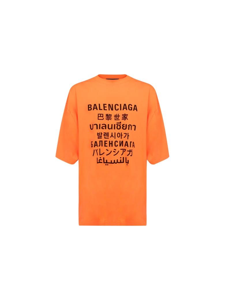 Balenciaga T-shirt - Arancione