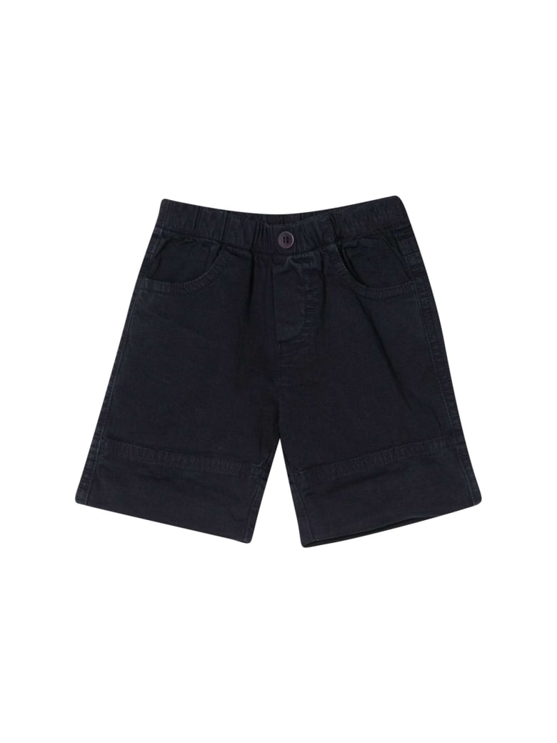 Il Gufo Kids Elasticated Waist Shorts - Blu