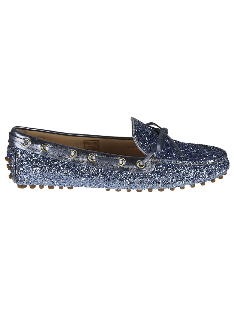 Car Shoe Glitter Embellished Driving Shoes - star