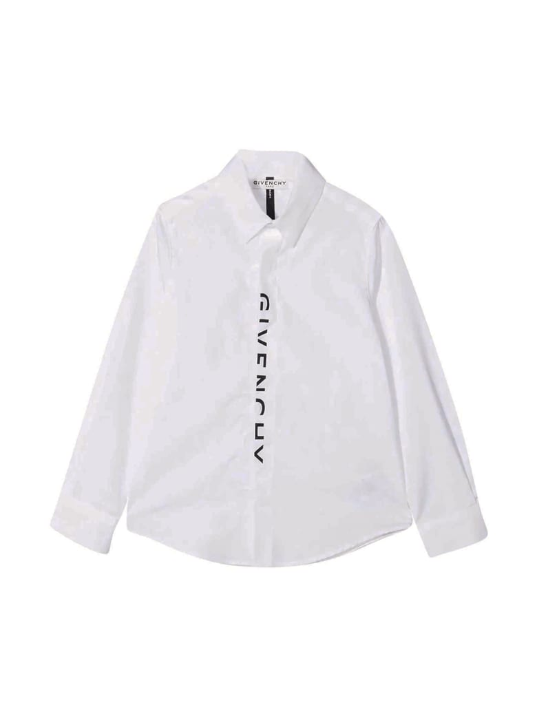 Givenchy White Shirt With Print - Bianco