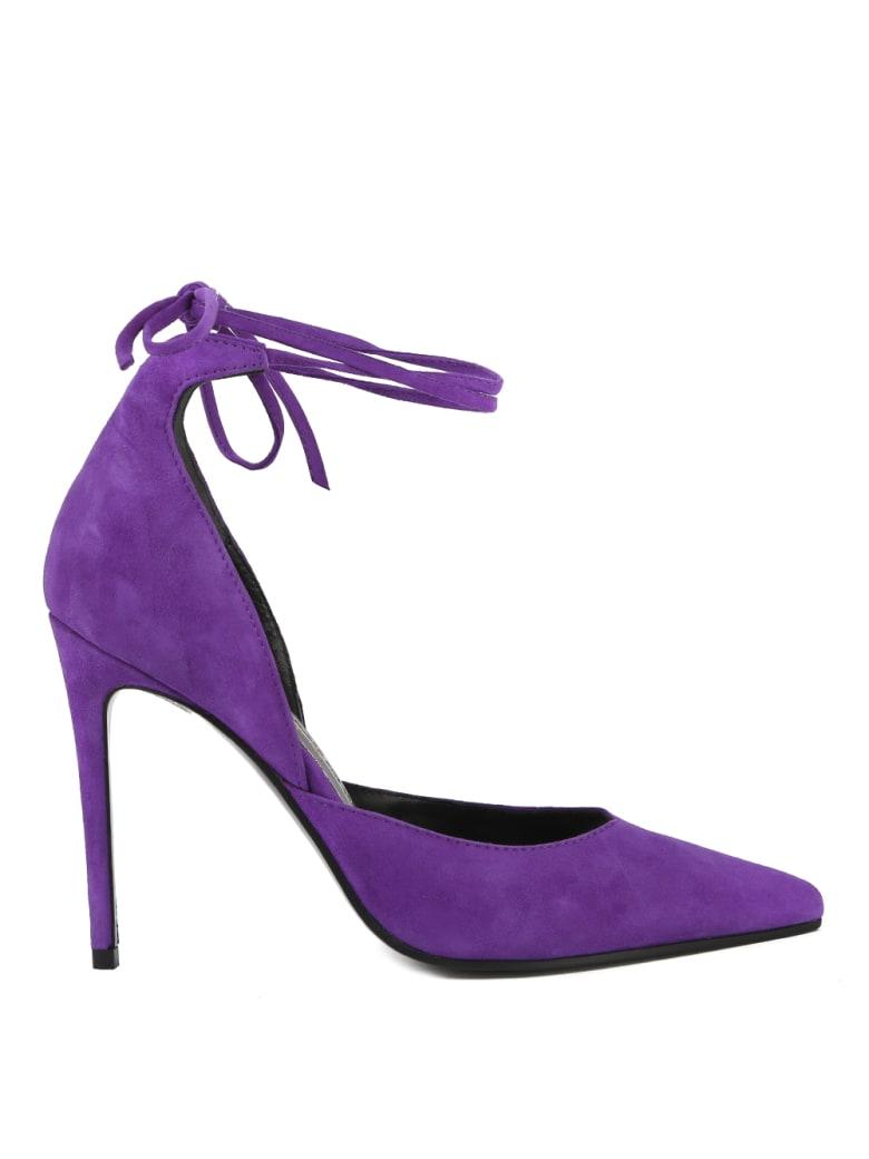 Aldo Castagna Purple Suede Pumps - Velvet