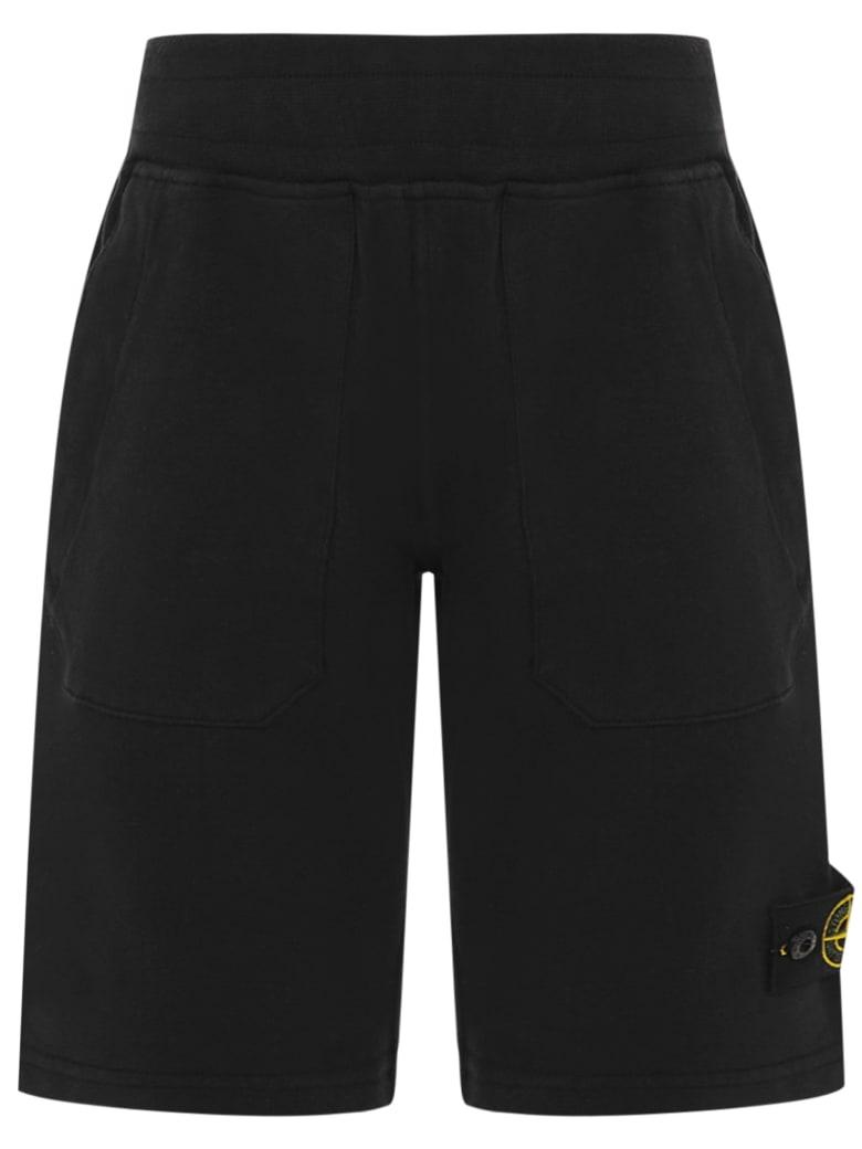 Stone Island Junior Shorts - Black