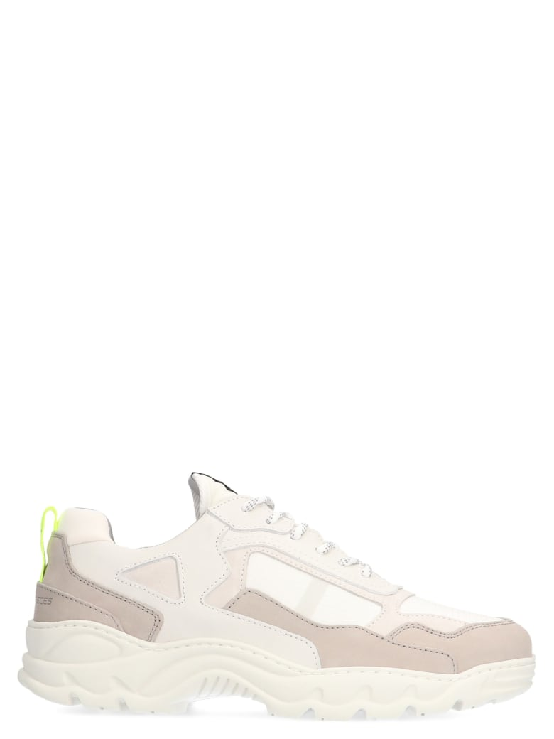 Filling Pieces 'low Curve Iceman Trinix' Shoes - White