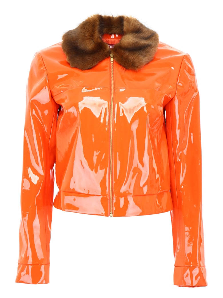 STAUD Dion Jacket - CITRINE (Orange)