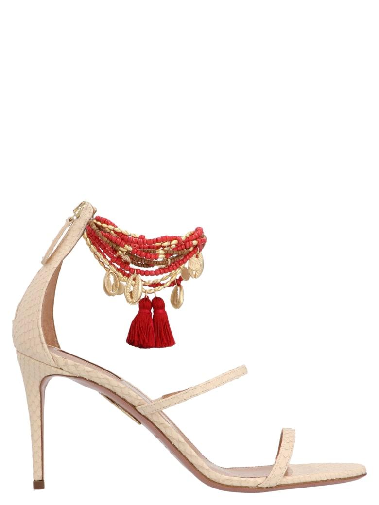 Aquazzura Shoes - Beige