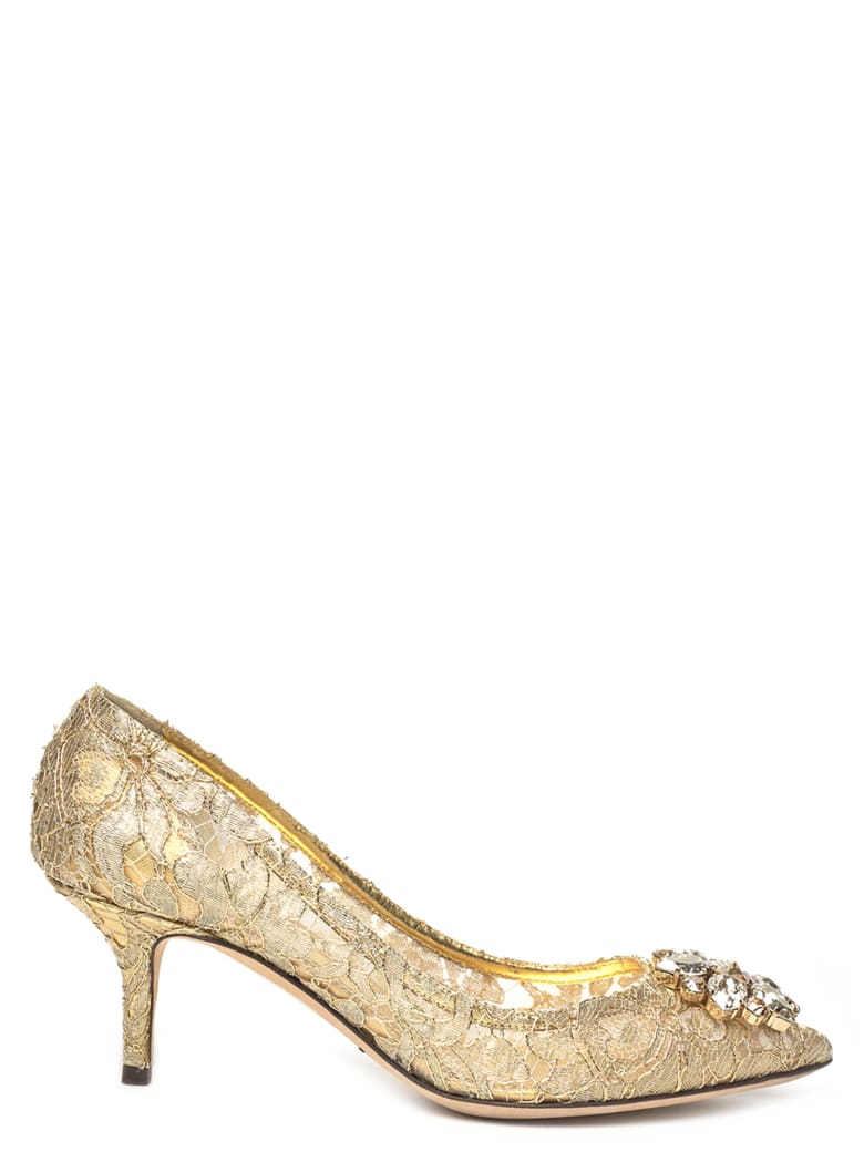 Dolce & Gabbana Shoes - Gold