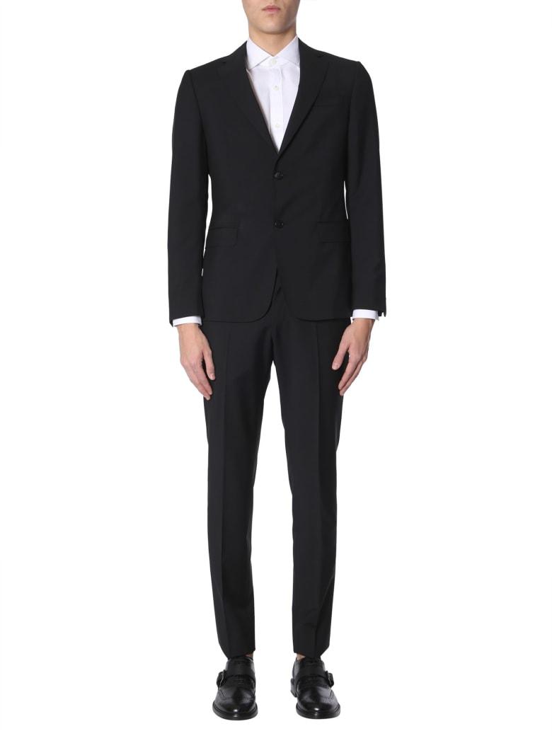 Z Zegna Complete Slim Fit Two-piece Suit - NERO