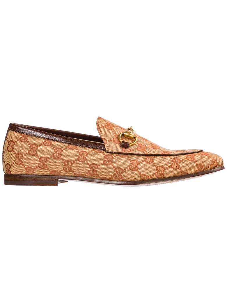 quality design a1bd9 59ef2 Best price on the market at italist | Gucci Gucci Mokassins Herren Slipper  Jordaan