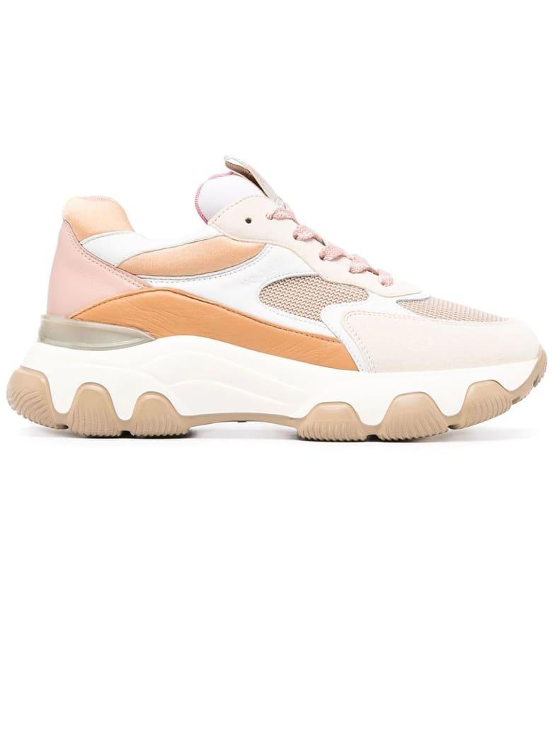 Hogan Orange Hyperactive Sneakers