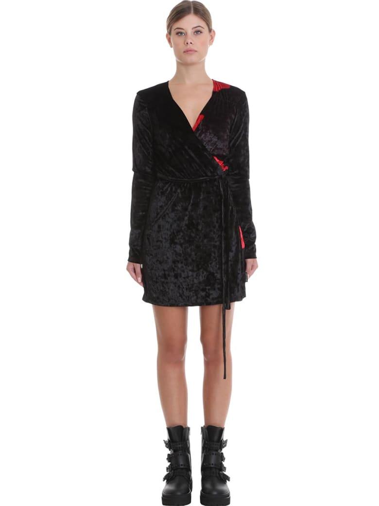 Marcelo Burlon Dress In Black Cotton - black