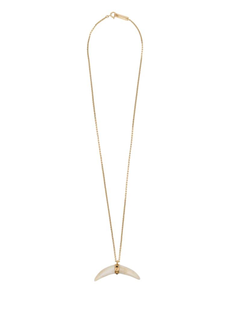 Isabel Marant Cap Horn Necklace - Beige