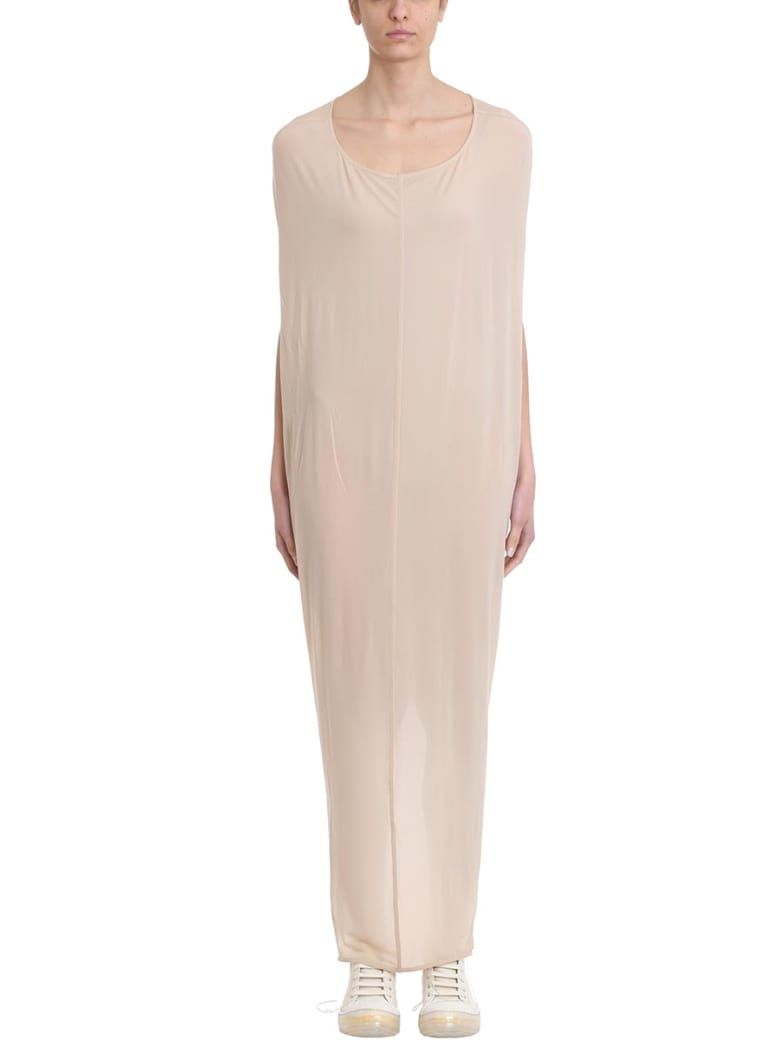 Rick Owens Lilies Gown Nude Jersey Dress - black