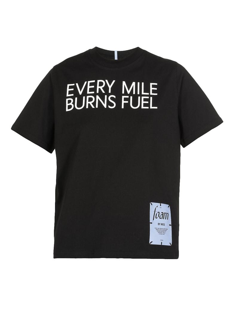 "McQ Alexander McQueen Mcq ""foam"" T-shirt - Darkest Black"