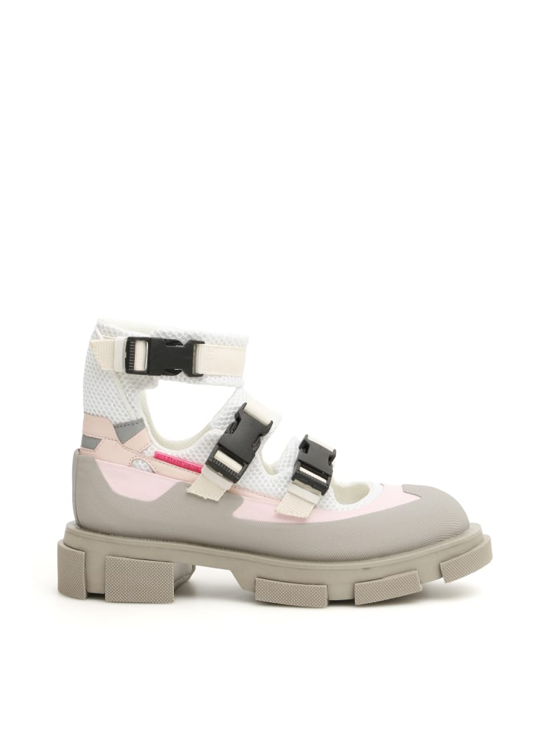 Both Gao Sandal Sneakers - WHITE PINK GREY (White)