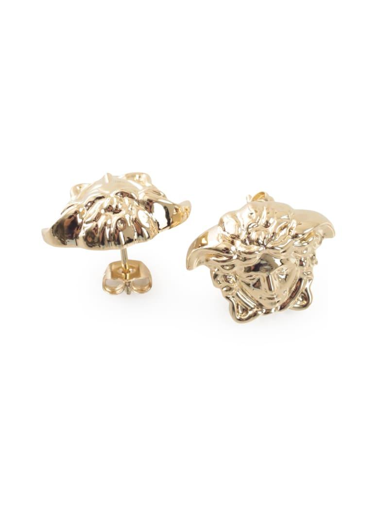 Versace Metallic Earrings - Giallo