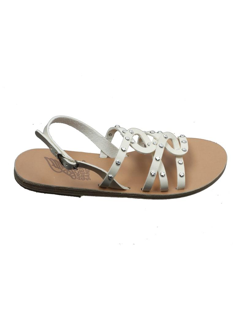 Ancient Greek Sandals Schinousa Rivets - Off White