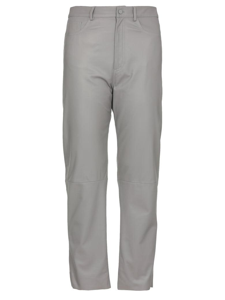 DROMe Leather Trousers - Tortora