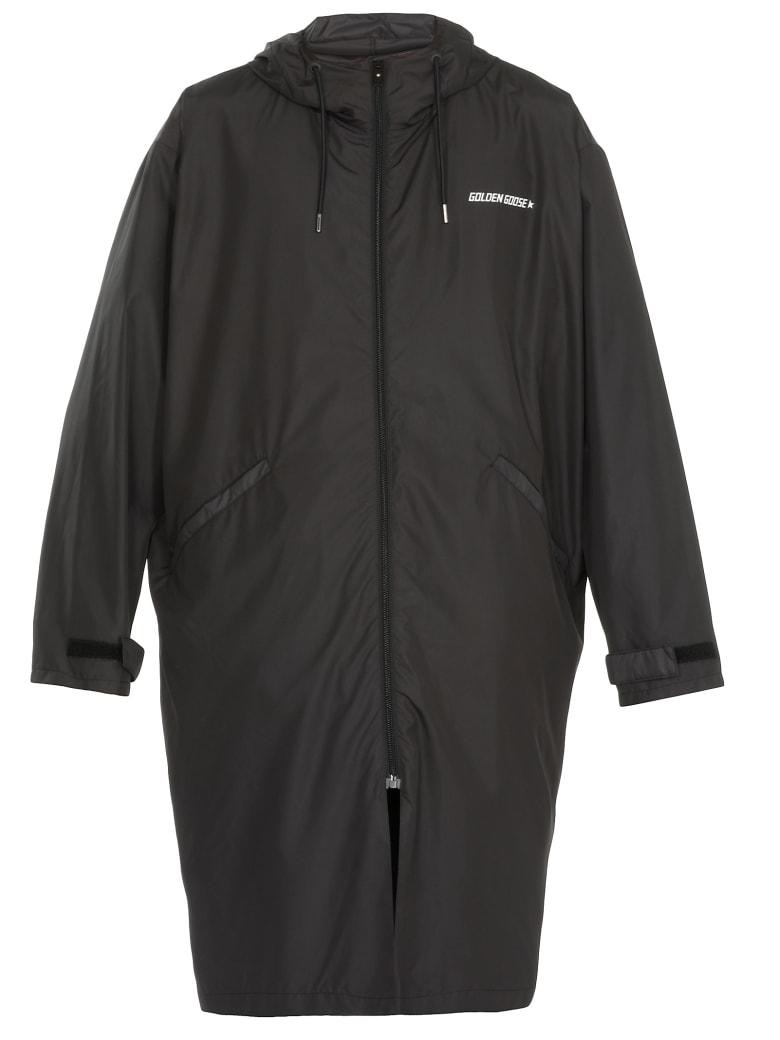 Golden Goose Parka Landon Overcoat - BLACK