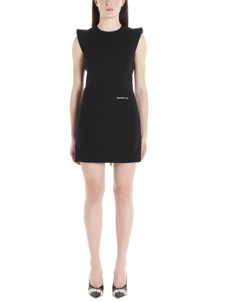 Dsquared2 'arwen' Dress - Black