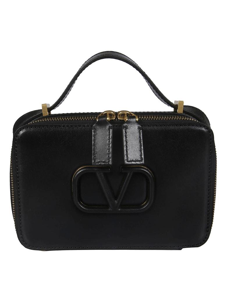Valentino Logo Crossbody Bag - No Nero