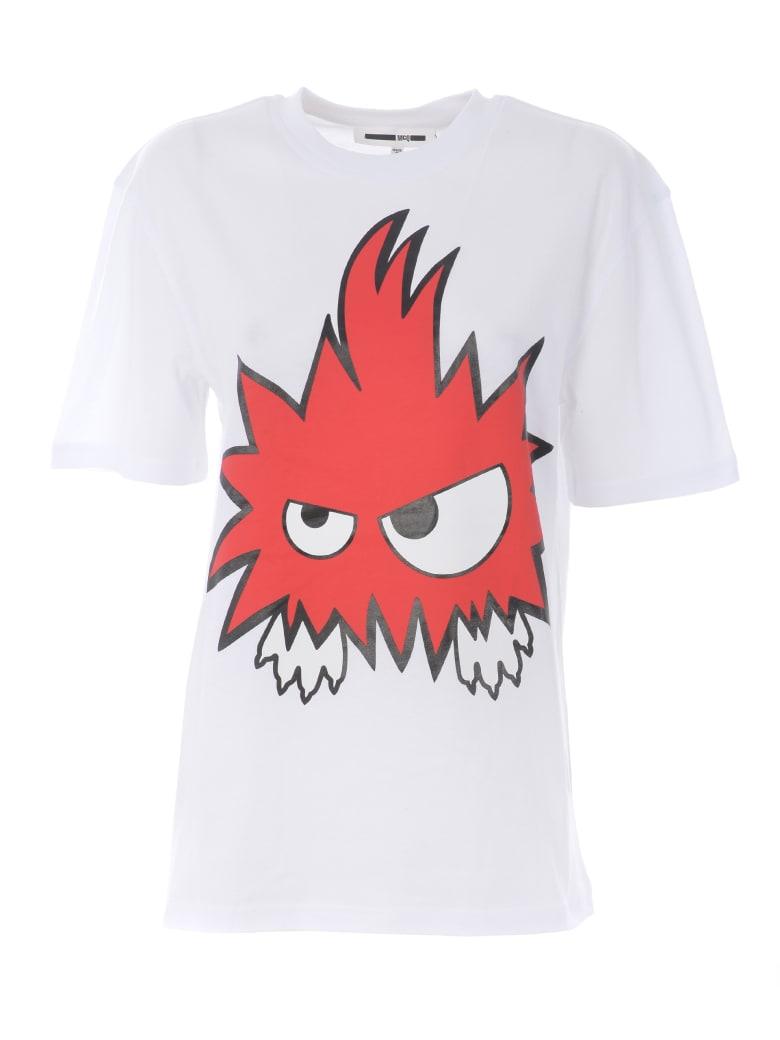 McQ Alexander McQueen Short Sleeve T-Shirt - Bianco
