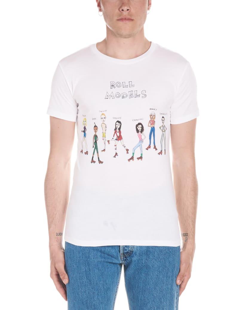 Unfortunate Portrait 'roll Model' T-shirt - White