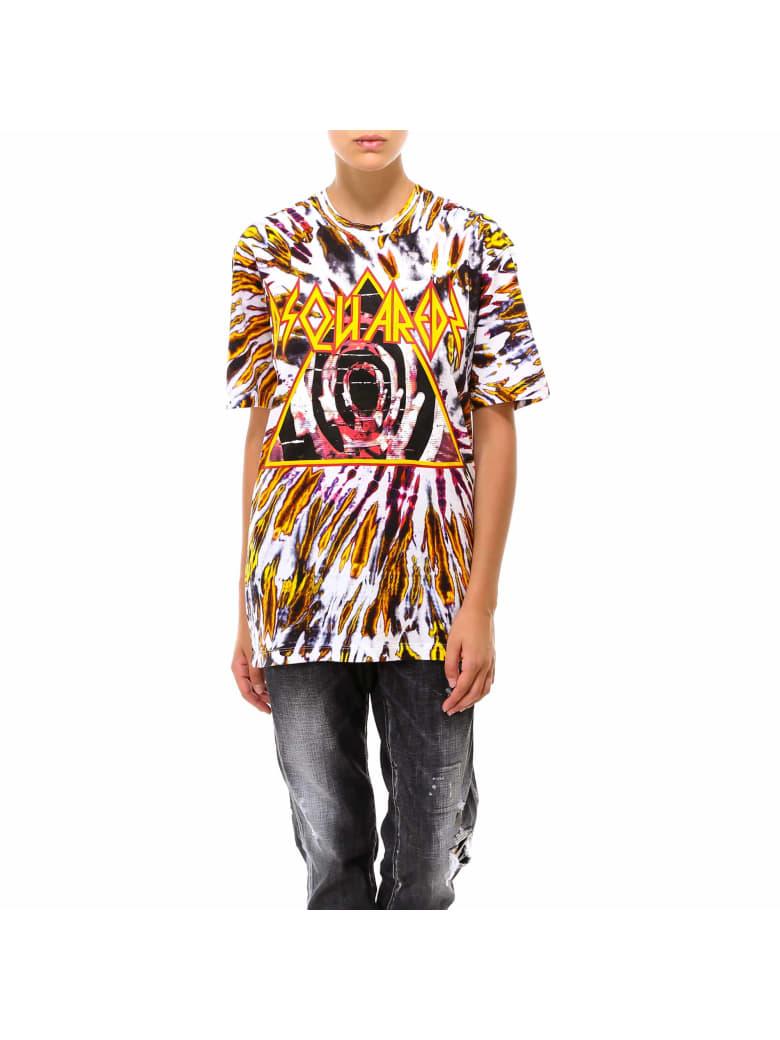 Dsquared2 T-shirts - Yellow