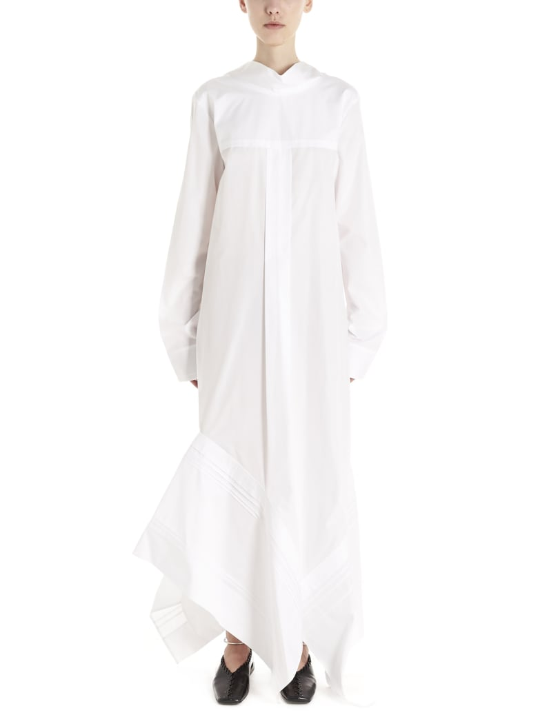 Jil Sander 'miranda' Dress - White