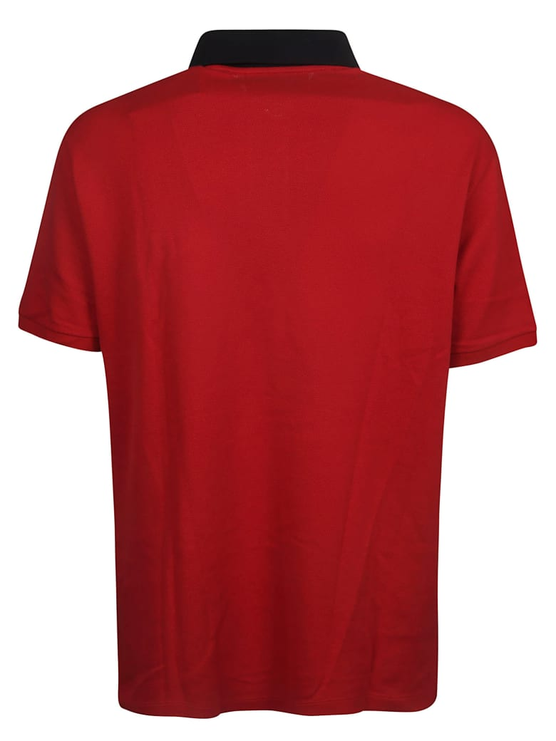 9884d4262cdb Gucci Gucci Gg Embroidery Polo Shirt - Live Red - 11001351   italist